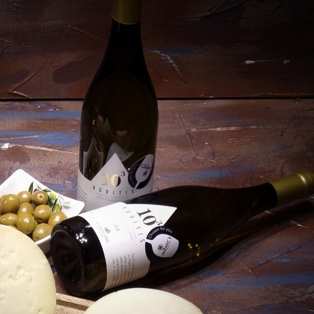 Roditis indigenous greek variety Cinque wine bar