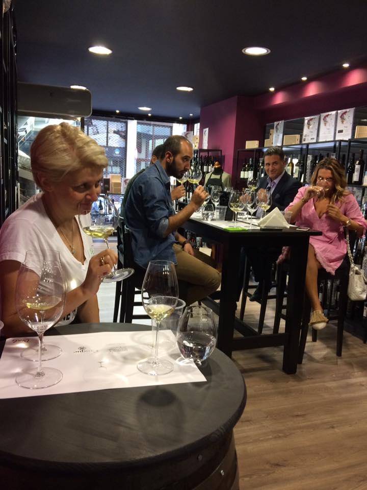 riedel masterclass Cinque wine delights sommelier