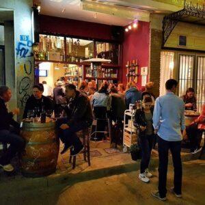 Cinque wine bar Athens Greece