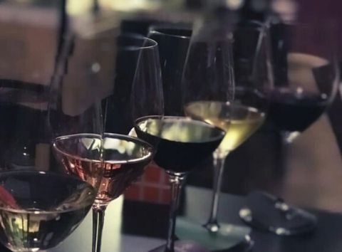 greek wine tasting Cinque wine bar