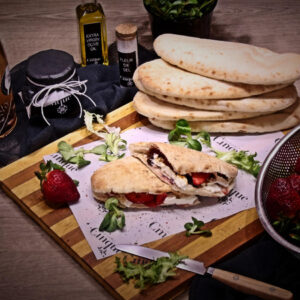 Panini greek products fresh Cinque wine bar Athens