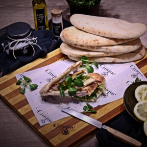 Panini greek products homemade chutney Cinque wine bar Athens