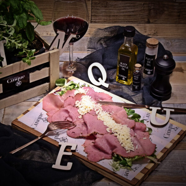 Pastrami greek products Cinque wine bar Athens