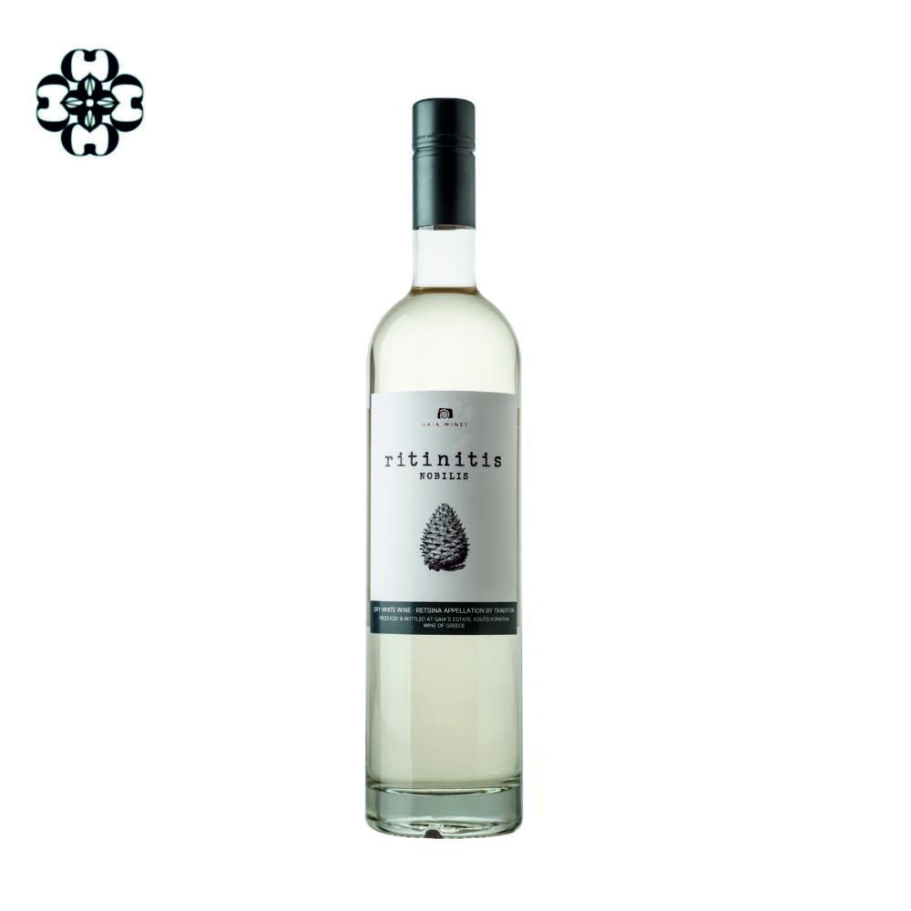 Ritinitis nobilis wine named by tredition Retsina Cinque wine bar Athens