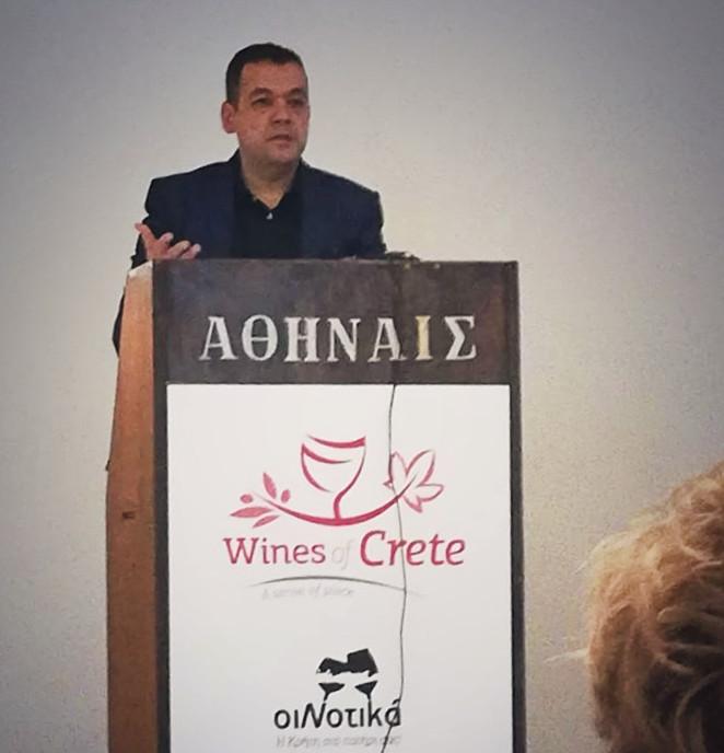 Crete: Wine Destination | Speech of Grigoris Prassas – Cinque Wine Bar