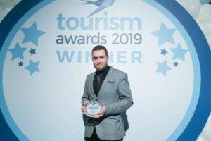 Tourism awards greek hospitality Cinque wine bar Athens 2019
