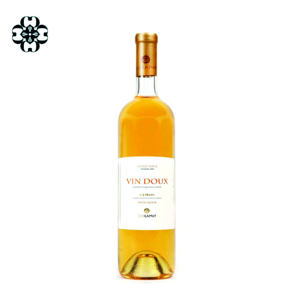 Vin doux Muscat of Samos Cinque wine bar Athens