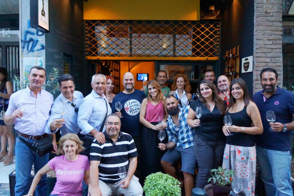 Cinque wine bar Athens wine tasting greek wines #winelovers alumni