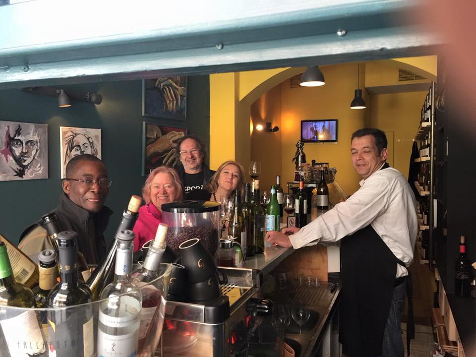 #winelover community Cinque wine bar Athens greek wines