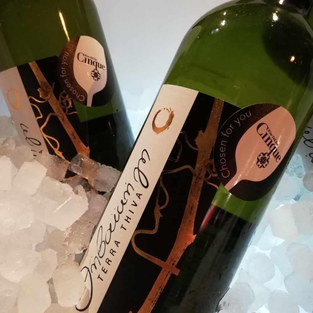Malagouzia Assyrtiko Greek wines Thivaiki Gi Cinque's wine list